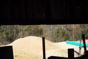 14) Sawdust mound CP5389