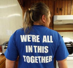 T-shirt back cp6677
